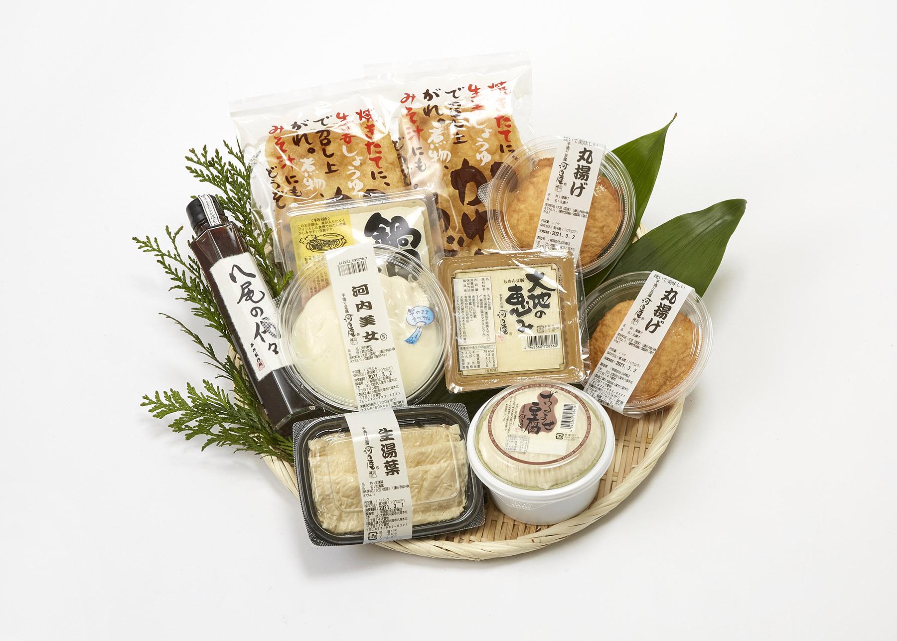 河内庵ギフト「豆腐道・竹セット」【送料込】